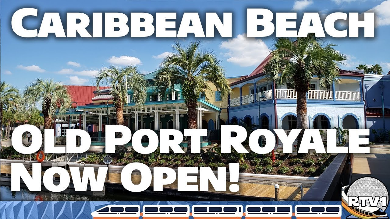 cd68bfd46 Disney s Caribbean Beach Resort - New Old Port Royale Tour   Construction  Update (October 2018)