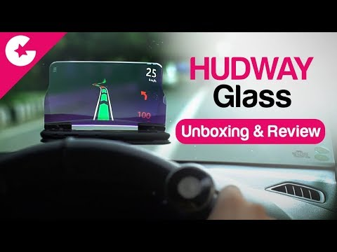 Download Youtube: HUDWAY GLASS - Head Up Display (HUD) - Unboxing & Review