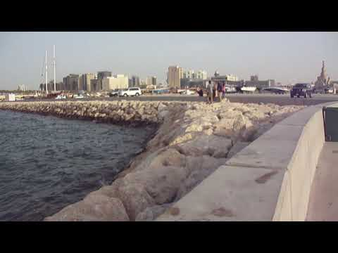 Doha waterfront and known buildings, Qatar (2014)
