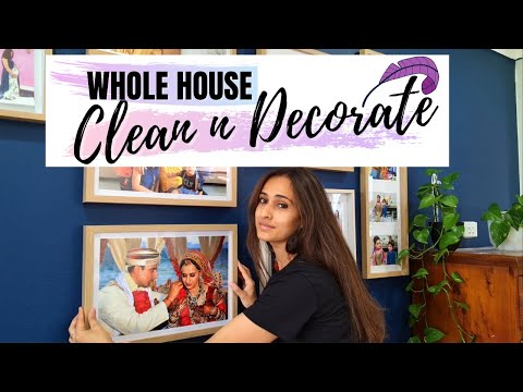 ENTIRE HOUSE CLEAN WITH ME 2021! EXTREME CLEAN & DECOR!