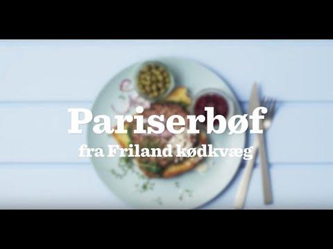 Pariserbøf af dansk FRILAND KØDKVÆG