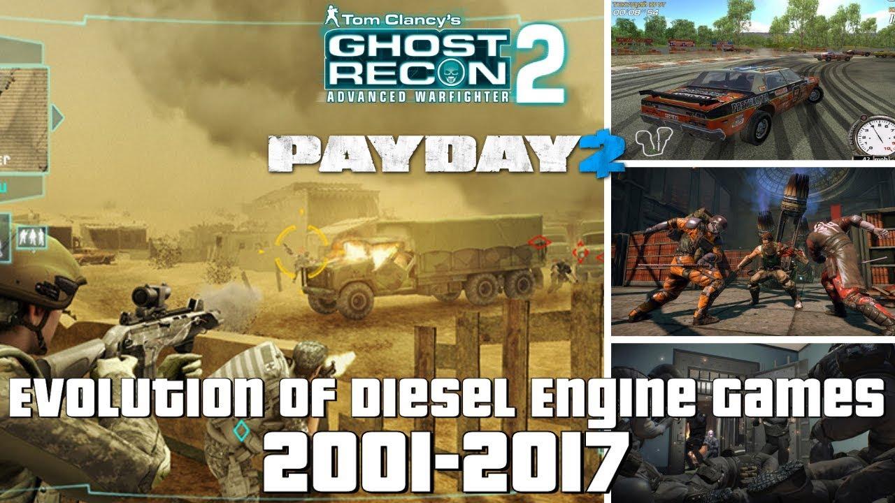 Evolution of Diesel Engine Games 2001-2017
