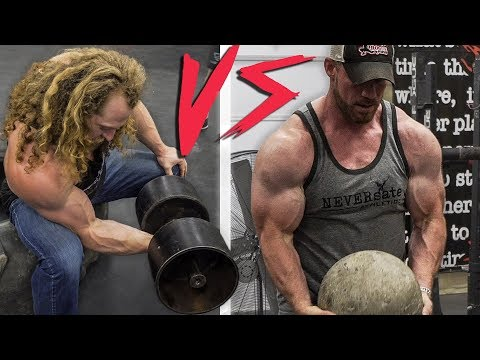 Who Builds Bigger Arms? BODYBUILDING vs STRONGMAN