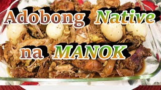 How to cook Native Adobong Manok