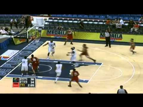 Highlights - Rep Dom 85 - México 67 // Centrobasket 2012