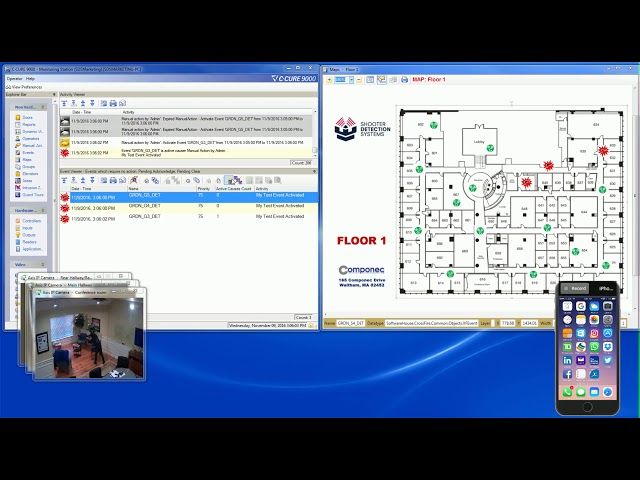 SDS Guardian / C-CURE 9000 Integration