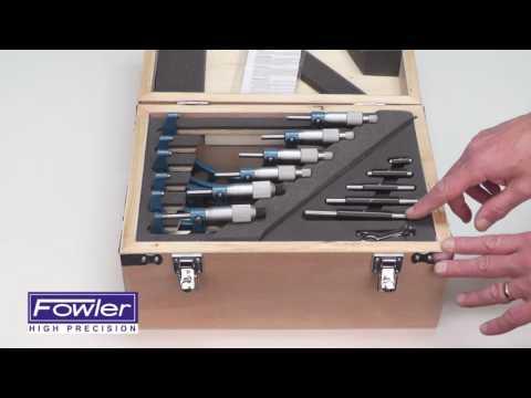 """52-215-006-1 0-6"""" Micrometer Set"""