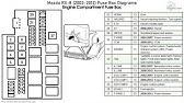 Fuse Box Location And Diagrams Mazda Rx 8 2003 2012 Youtube