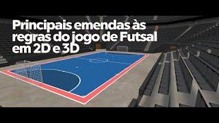 Principais emendas às regras do jogo de Futsal