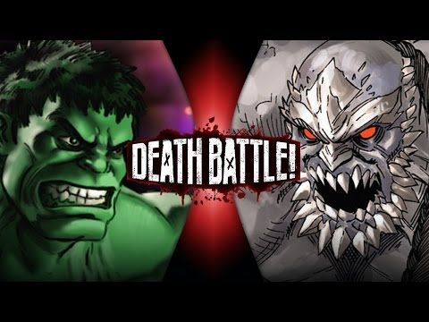Hulk VS Doomsday | DEATH BATTLE!