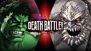 Hulk VS Doomsday (Marvel VS DC) | DEATH BATTLE! thumbnail
