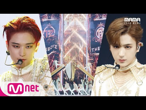 [2020 MAMA] THE BOYZ_Open the gate of hell + The Beginning of the End(REVEAL + CHECKMATE)