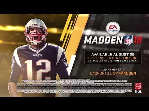 Madden NFL 18 Official Teaser Trailer (Xbox 2017)