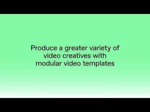 Build Modular Video Templates