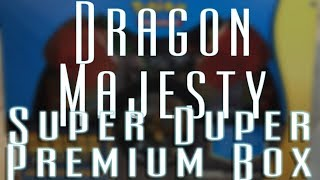 New Cards Wednesday - Dragon Majesty Super Premium Collection
