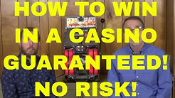 How to Win in a Casino - GUARANTEED! -  Even if You Know Nothing!