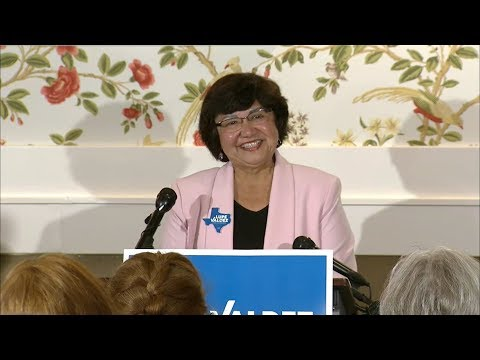 Found It! Democratic Texas Governor candidate Lupe Valdez' missing gun turns up