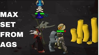 Deep Wild PKing for the Most RANDOM BANK Loots | Max Set From Ags #53