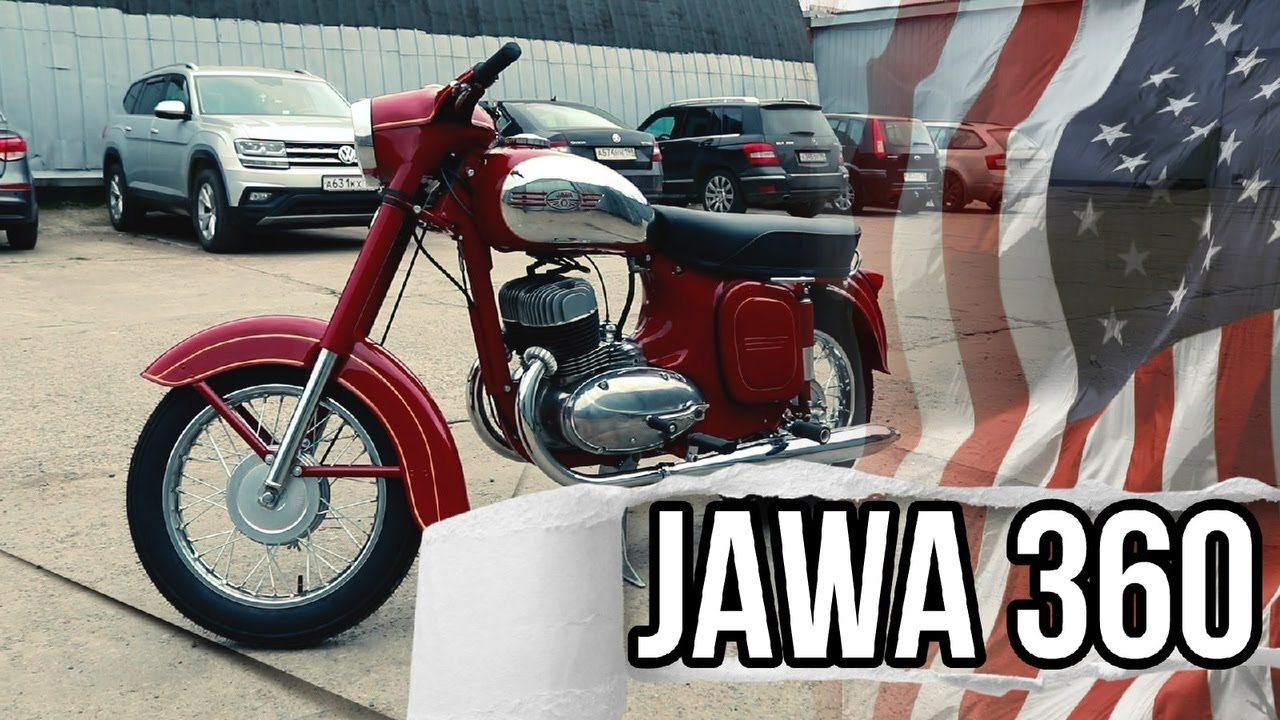 Motorcycle Jawa 350 mod 360 by Retrocycle