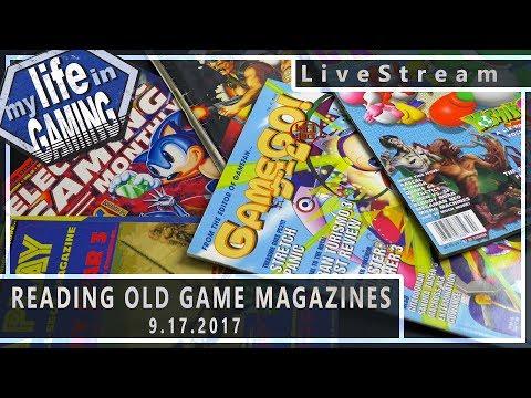 Reading Old Game Magazines (w/Greg Sewart & CG Quarterly) 9.17.2017 :: LiveStream - Reading Old Game Magazines (w/Greg Sewart & CG Quarterly) 9.17.2017 :: LiveStream