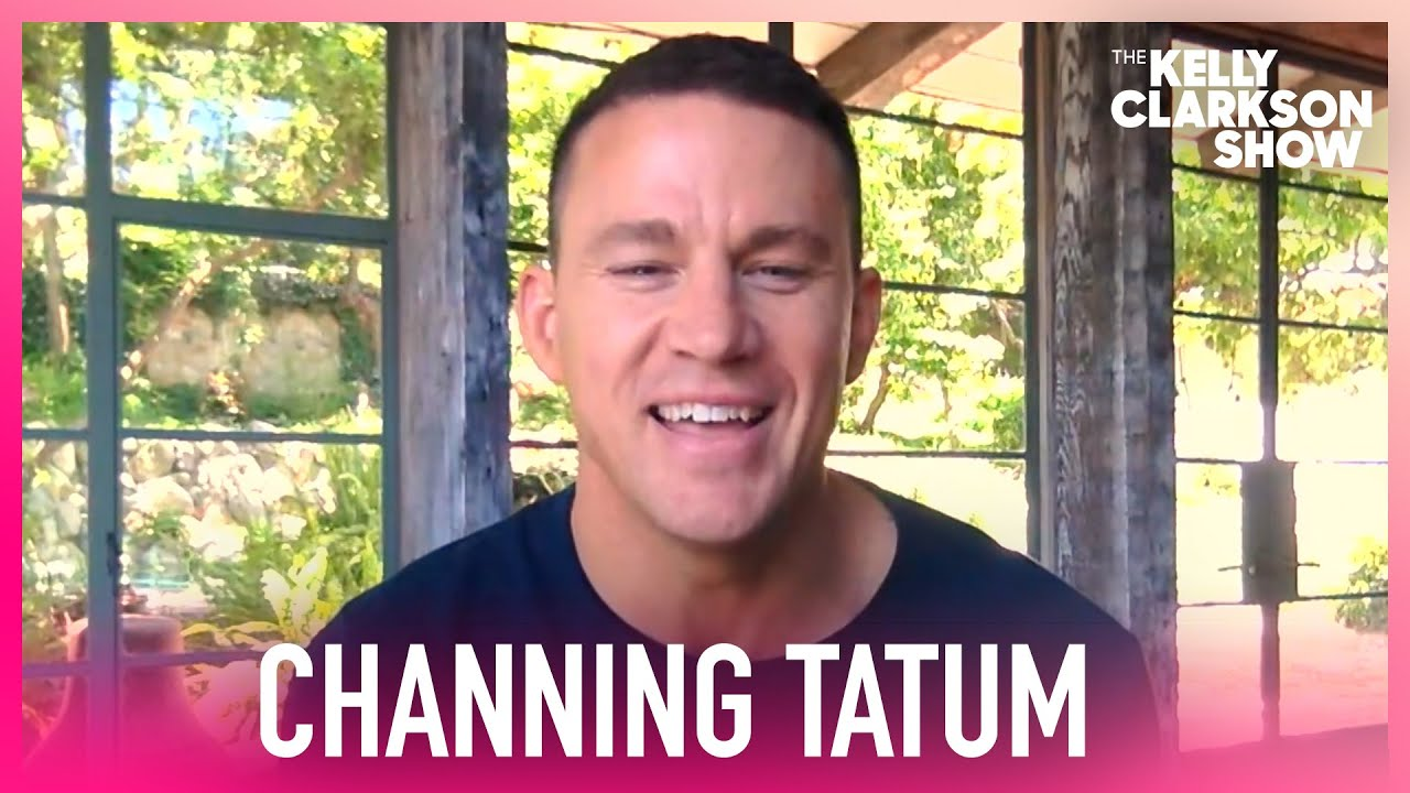 Channing Tatum Only Works Out Because He's Naked In Films
