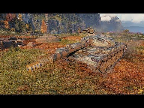 World Of Tanks Object 140 10K DMG - Fjords