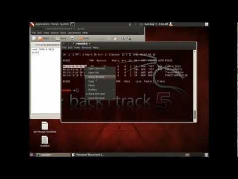 hướng dẫn hack pass wifi bằng backtrack 5 - Hack mật khẩu wifi bằng backtrack 5