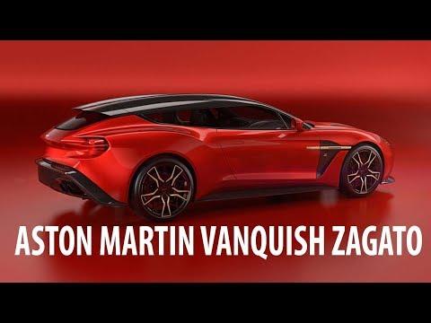 Watch Now !!! Aston Martin Vanquish Zagato Shooting Brake Finishes A Quartet Q Would Envy