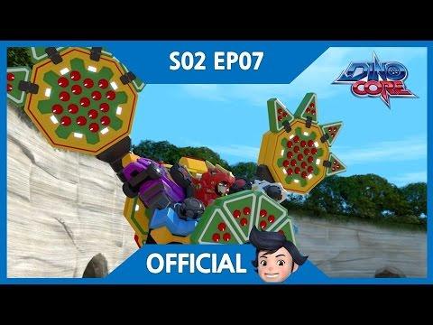 [DinoCore] Official | Akan vs. Bicycle | Dinosaur Robot Animation for Kids | Season 2 EP07