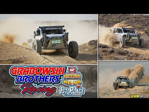Grabowski Brothers Racing WINS the 2018 Best in the Desert Vegas to Reno!