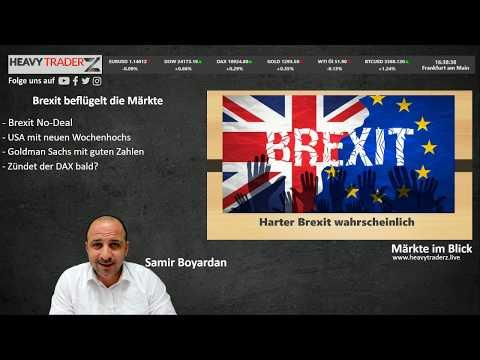 Wall Street LIVE Handel: Brexit beflügelt die Märkte