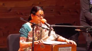 amar bhitoro bahire ontore ontore/ live performance by sriradha banerjee