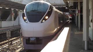 常磐線E657系特急ひたち13号仙台行上野駅発車※8番線発車メロディー「煌く街並み」あり