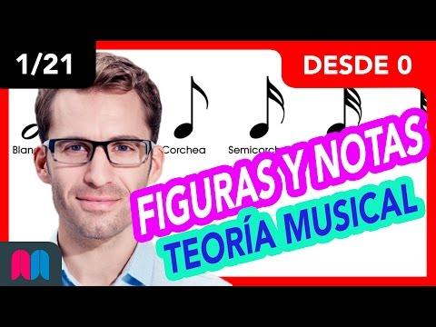 1/21 Curso Teoría musical 35h desde 0 a 100: Figuras y notas (tutorial español)