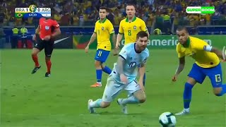 """messi never dives""- messi best dives"