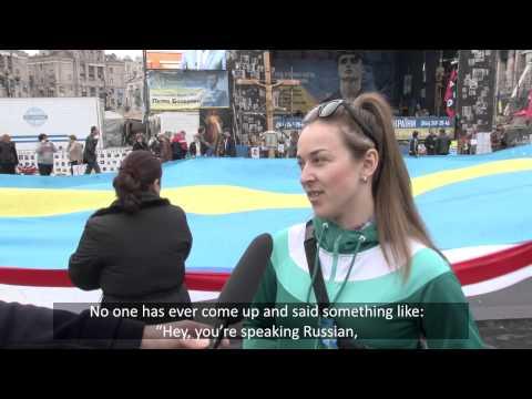 Russian speakers terrorized? Ukrainians speak up.