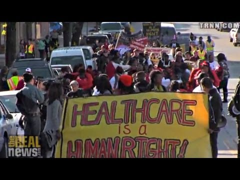 While Media Focuses on Obamacare Glitches, Hundreds in MD Call for Universal Healthcare