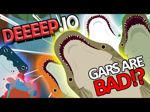 Alligator Gar Is BAD!? - Deeeep.io Gameplay