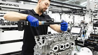 MercedesAMG M139 Engine Production  20liter with 421 hp  HandMade in Germany