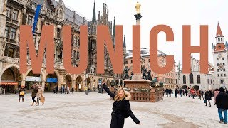 MUNICH TRAVEL VLOG | My Train Trip from Berlin to München, Hofbrauhaus Beer, & More | VICKIE COMEDY