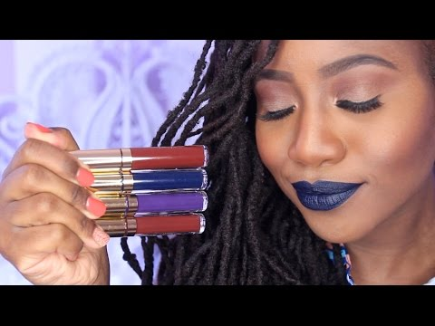 LA Splash Lip Couture Swatches + Review #ThePaintedLipsProject | JASMINE ROSE