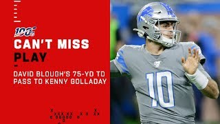 David Blough Goes DEEP to Kenny Golladay for the TD!