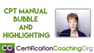 CPT Manual Bubble and Highlighting™ Technique Explained