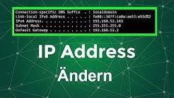 Lokale IP-Adresse ändern [Easy]