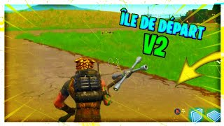 ALLER ON The ILE OF DEPART V2 ON FORTNITE! [V6.30,31]