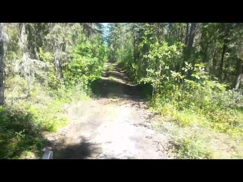 Carmacks Yukon Coal mine lake