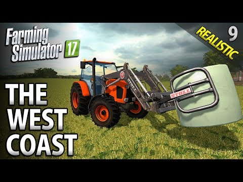 Let's Play Farming Simulator 17 | The West Coast | Episode 9