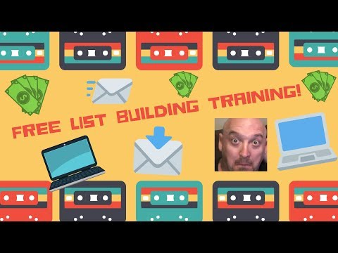 Free List Building Training