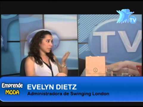 Moda: Swinging London - Evelyn Dietz