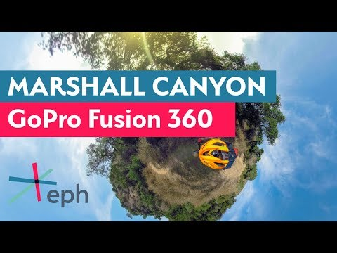 Marshall Canyon Single Track 360 - GoPro Fusion